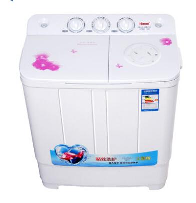 0公斤双桶迷你洗衣机 半自动洗衣机